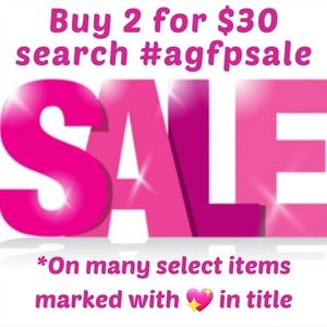 Please Share! #AGFPSALE Buy 2 for $30 New items